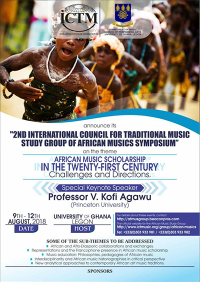 Flyer African Music Scholarship in the 21st Century