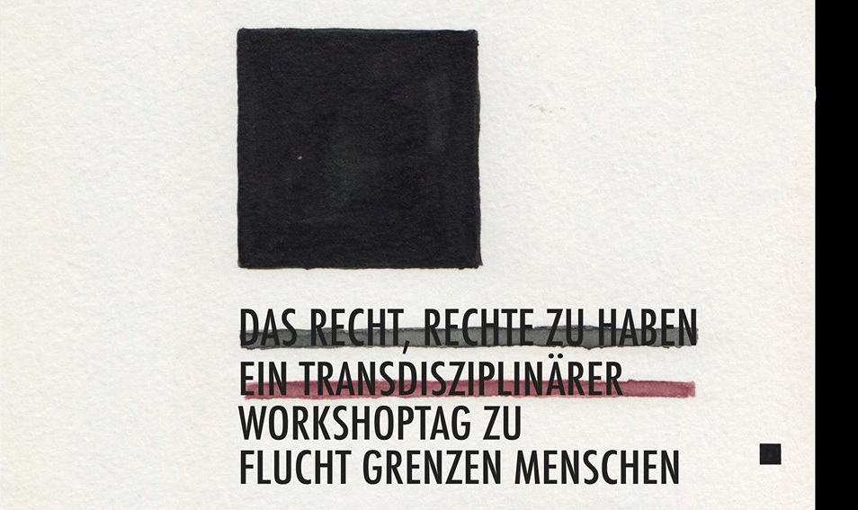 Flyer Auditorium Grimmzentrum University Humbold Berlin 2017