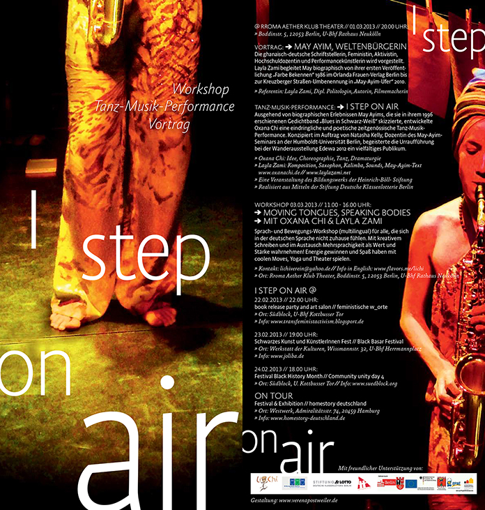 Flyer I Step on Air 2013